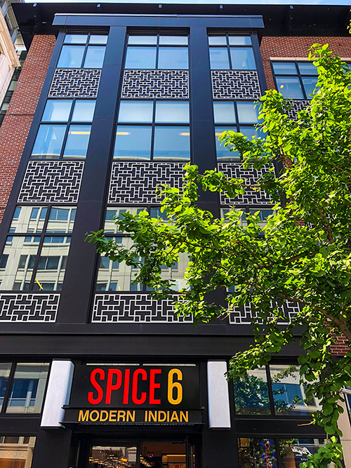 740 6th Street - Spice 6 Indian Restaurant - Building