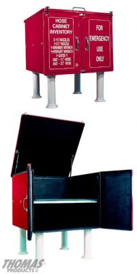 Fire Hose Cabinets Model FHC-3D