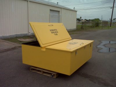 Large Storage Equipment Cabinets Model FWG-84 one side open