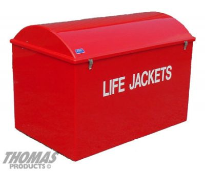 Life Jacket and Life Ring Cabinets Model LJC-5R
