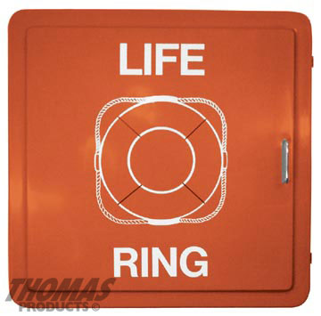 Life Jacket and Life Ring Cabinets Model LRC-2