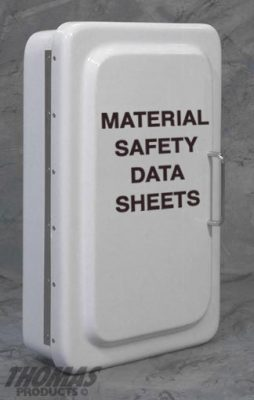 Material Safety Data Sheet Cabinets Model MSDS-1 drawing