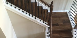 Hardwood Flooring on Stairs