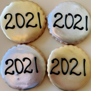 New Year's Eve Cookies 2021