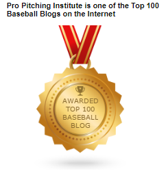 Pro Pitching Institute is one of the top 100 baseball blogs on the Internet.